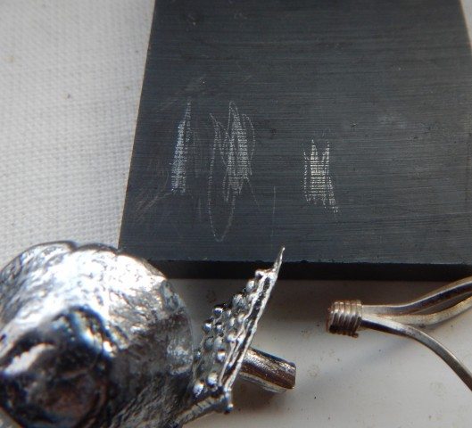 lead pewter and silver streak test
